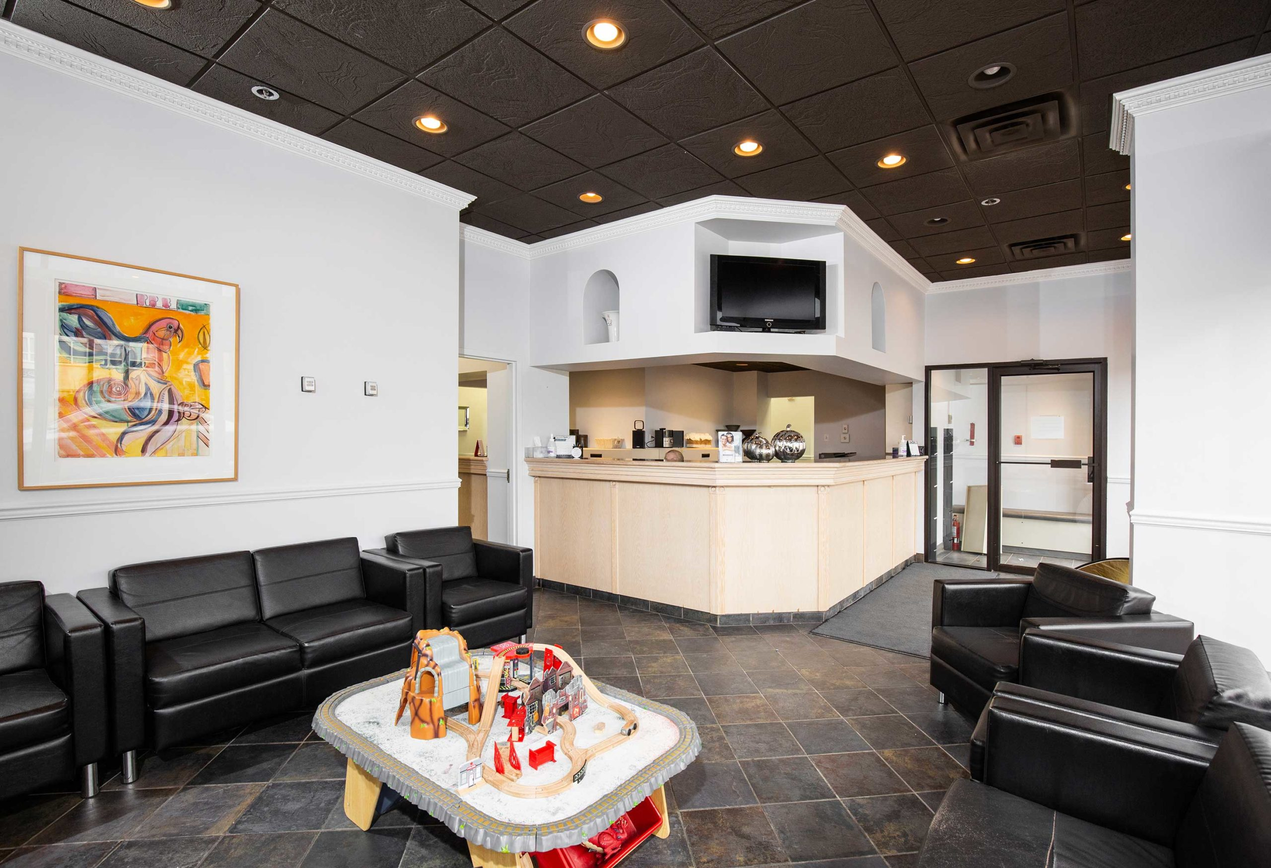 Reception Area | Peace Periodontics